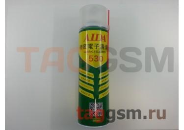 Спрей-очиститель AIDA 530 для очистки контактов 550мл