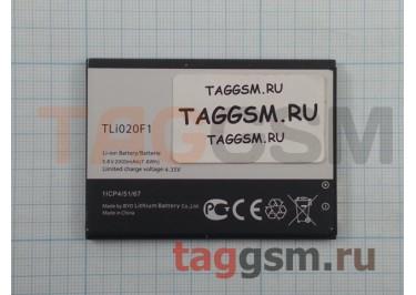 АКБ для Alcatel OT-5022D / 5042D / 6036Y / 7041D (TLi019B1 / TLi019B2 / TLi020F1 / TLi020F2) (тех.упак), ориг