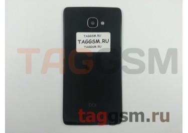Задняя крышка для Alcatel OT-6070K Idol 4S (черный)