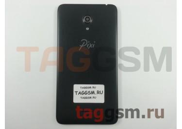 Задняя крышка для Alcatel OT-8050D Pixi 4 (черный)