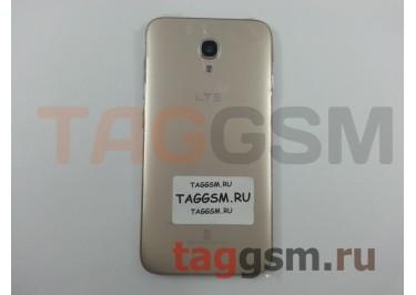 Задняя крышка для Alcatel OT-6050Y Idol 2S (золото)
