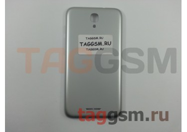 Задняя крышка для Alcatel OT-5010D Pixi 4 (серебро)