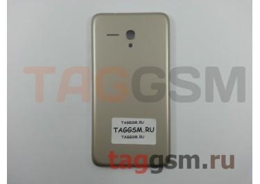 Задняя крышка для Alcatel OT-5054D Pop 3 (золото)