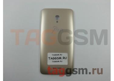 Задняя крышка для Alcatel OT-5022D Pop Star (золото)