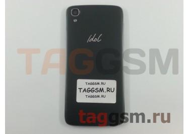 Задняя крышка для Alcatel OT-6039Y Idol 3 (серый)