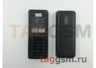 Корпус Nokia 107 со средней частью + клавиатура (черный)