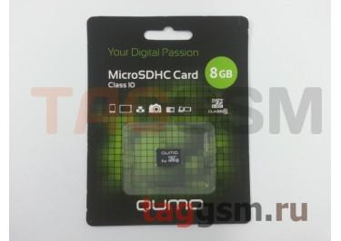 Micro SD 8Gb Qumo Class 10 без адаптера SD
