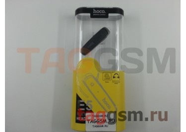 BLUETOOTH-гарнитура E5 (черная) HOCO