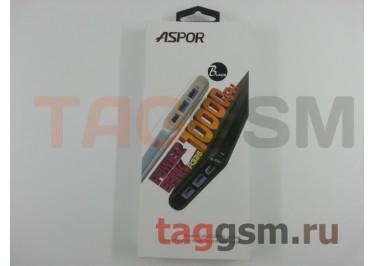 Портативное зарядное устройство (Power Bank) (Aspor A326, 2USB выхода 2400mAh) Емкость 10000mAh (черный)