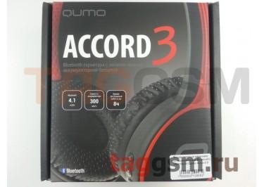 Беспроводные наушники (полноразмерные Bluetooth) (красный) Qumo Accord 3