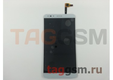 Дисплей для Alcatel OT-7070X Pop 4 + тачскрин (белый)