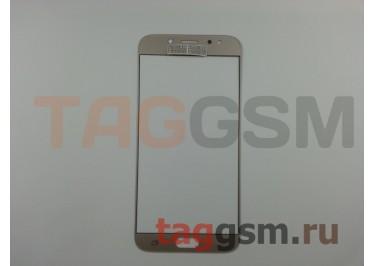 Стекло для Samsung J730 Galaxy J7 (2017) (золото), ААА