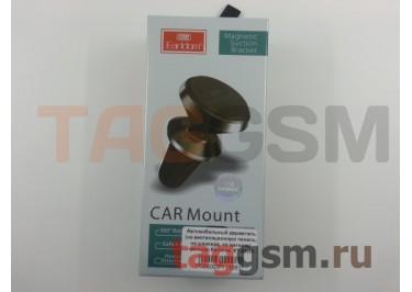 Автомобильный держатель (на вентиляционную панель, на шарнире, на магните) (чёрный) Earldom, ET-EH22