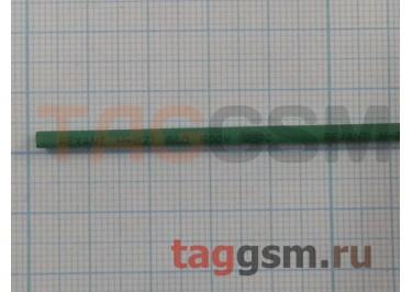 Термоусадочная трубка (2,0 мм  /  1,0 мм, длина 1м, зеленая) Rexant