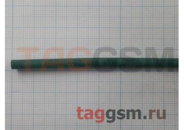 Термоусадочная трубка (3,5 мм  /  1,75 мм, длина 1м, зеленая) Rexant