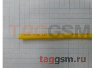 Термоусадочная трубка (3,5 мм  /  1,75 мм, длина 1м, желтая) Rexant