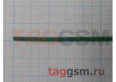Термоусадочная трубка (1,0 мм  /  0,5 мм, длина 1м, зеленая) Rexant
