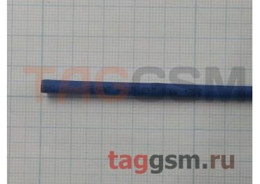 Термоусадочная трубка (3,0 мм  /  1,5 мм, длина 1м, синяя) Rexant