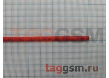 Термоусадочная трубка (2,0 мм  /  1,0 мм, длина 1м, красная) Rexant