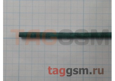 Термоусадочная трубка (3,0 мм  /  1,5 мм, длина 1м, зеленая) Rexant
