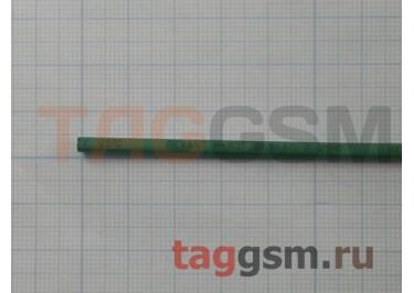 Термоусадочная трубка (2,5 мм  /  1,25 мм, длина 1м, зеленая) Rexant