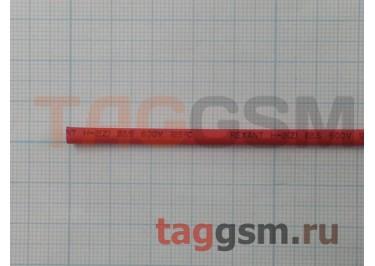 Термоусадочная трубка (2,5 мм  /  1,25 мм, длина 1м, красная) Rexant