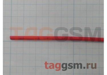 Термоусадочная трубка (1,5 мм  /  0,75 мм, длина 1м, красная) Rexant