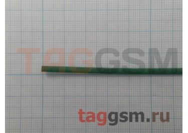 Термоусадочная трубка (1,5 мм  /  0,75 мм, длина 1м, зеленая) Rexant