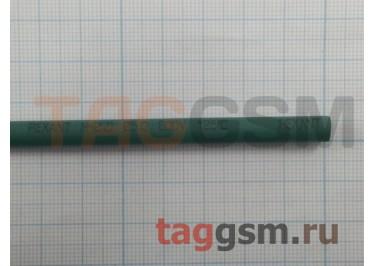 Термоусадочная трубка (5,0 мм  /  2,5 мм, длина 1м, зеленая Rexant