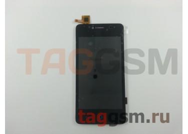 Дисплей для ZTE Blade AF3 / AF5 / A5 / A5 Pro + тачскрин (черный)