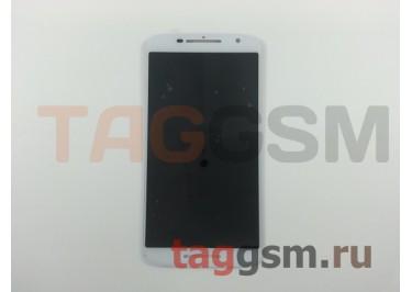 Дисплей для Motorola Moto X Play + тачскрин (белый)