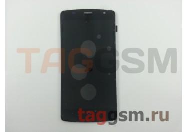 Дисплей для ZTE Blade L5 + тачскрин (черный)