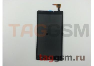 Дисплей для ZTE Blade L2 + тачскрин (черный)