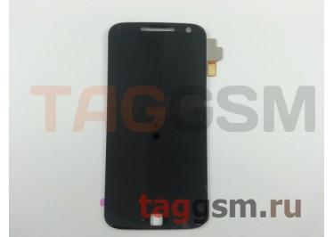 Дисплей для Motorola Moto G4 Plus + тачскрин (черный)