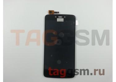 Дисплей для Motorola Moto C Plus + тачскрин (черный)