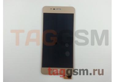 """Дисплей для Asus Zenfone 3 Max (ZC520TL) 5,2"""" + тачскрин (золото)"""