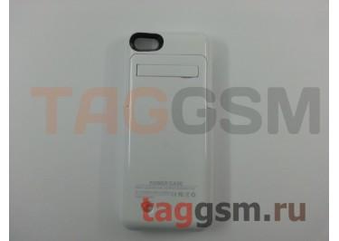 Дополнительный аккумулятор для iPhone 5 / 5S / SE 3200 mAh (белый)