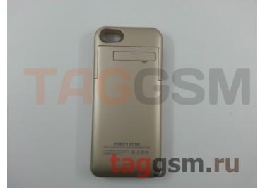 Дополнительный аккумулятор для iPhone 5 / 5S / SE 3200 mAh (золото)