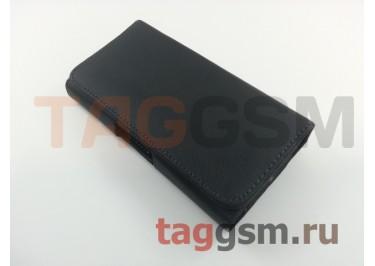 Чехол на ремень для Samsung S6 / S7 / A320 / A520 (143.4х70.5х7.7мм) (черный) техпак