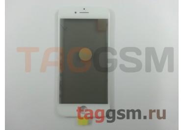 Стекло + OCA + поляризатор + рамка для iPhone 8 (белый), ориг