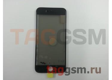 Стекло + OCA + поляризатор + рамка для iPhone 8 (черный), ориг