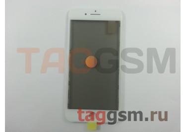 Стекло + OCA + поляризатор + рамка для iPhone 8 Plus (белый), ориг