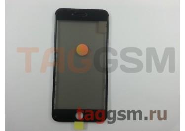 Стекло + OCA + поляризатор + рамка для iPhone 8 Plus (черный), ориг