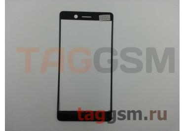 Стекло для Nokia 7 (черный), ориг