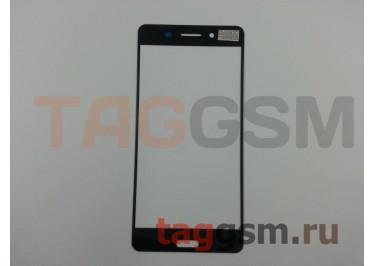 Стекло для Nokia 6 (черный)