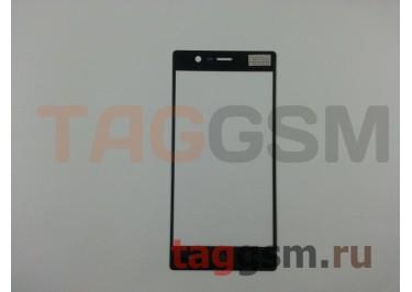 Стекло для Nokia 3 (черный)