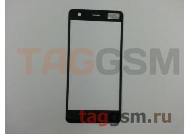 Стекло для Nokia 2 (черный), ориг