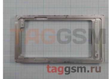 Форма для склеивания дисплея и стекла Samsung A700 Galax A7 (алюминий)