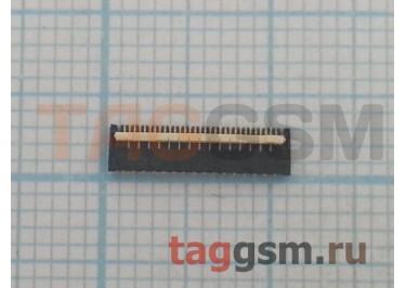 Коннектор тачскриа для HTC Desire V / Desire X / One V 31pin