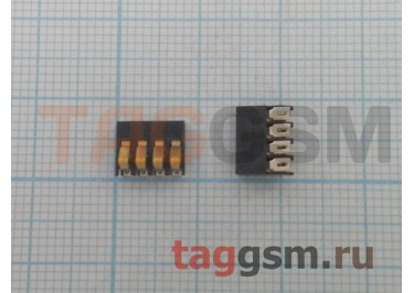 Контакты батареи для Xiaomi Mi2 / Mi2S 4pin